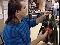 Bette's puppet getting hair